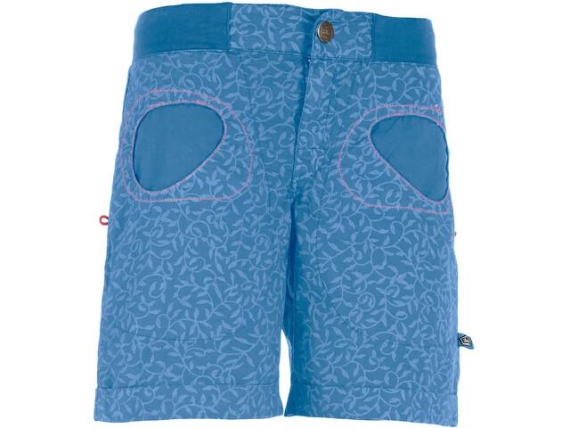E9 N Onda St Short Femme, cobalt blue